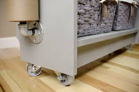 ikea wheeled cart from ikea billy bookcase to rolling craft cart giveaway living