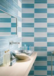 blue bathroom tile ideas modern bathroom tile designs in monochromatic colors