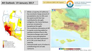 California Weather Map Cw3e Ar Update 19 January 2017 Outlook U2013 Center For Western