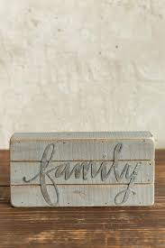 family wood family wood box sign s