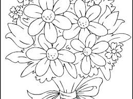printable coloring pages of pretty flowers pretty flower coloring pages print coloring books unique free
