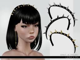 spiked headband lillith s leahlillith spiked headband