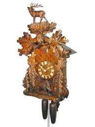 Regula Cuckoo Clock Carved 8 Day Wild Boar Style Cuckoo Clock 53cm By August Schwer