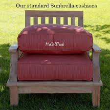 Patio Chair Cushions Sunbrella Seating Cushions Sunbrella Lounge Cushion