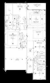 Barrington Floor Plan by Barrington Stone Martin Builders