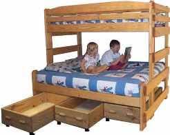 Build A Bunk Bed Bunk Bed Plans Bunk Beds Unlimited
