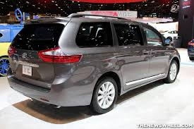 family car toyota 2015 toyota named family car and minivan of the