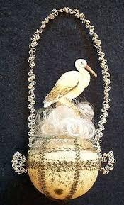 german cotton christmas ornament antique christmas ornaments