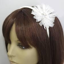 flowergirl hair handmade flowergirl hairband bridal bags accessories