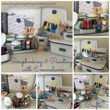 my enamelware obsession easy peasy pleasy scrapbooking and