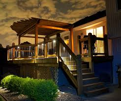 Recessed Deck Lighting Deck Lighting Makes The Home Look More Vibrant U2013 Home Interior