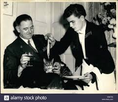 nov 11 1953 cats are guest of honour at a cocktail party the
