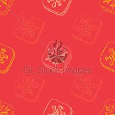 christmas pattern with snowflake sketch gl stock images