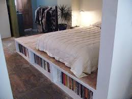 Build Platform Bed With Storage Underneath by Diy Platform Bed With Storage Plans With Pictures U2014 Interior