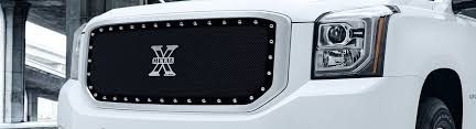2015 gmc yukon custom grilles billet mesh led chrome black