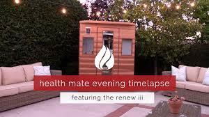videos health mate infrared sauna