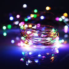 aliexpress com buy 5pcs 5m 50led copper wire string lights