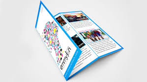 tri fold brochure ai template tri fold brochure design layout adobe illustrator speedart