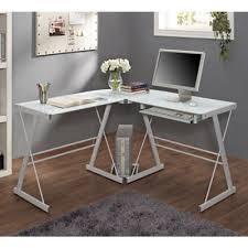 Glass Desk Office Buy Glass Office Desk From Bed Bath Beyond