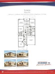 Lewis Homes Floor Plans Dr Horton Homes
