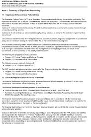 objectives of financial statement analysis afp annual report 2014 15 australian federal police