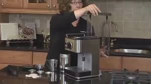 espresso maker how it works cuisinart espresso maker canadian tire
