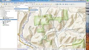 Topo Map Making Of A Qgis Topo Map Youtube