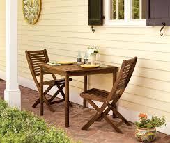 Patio Furniture Louisville Amazon Com Oxford Garden Capri Acacia Folding Chair 2 Pack