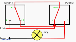 2 way light switch wiring staircase connections in at diagram two