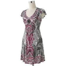 apt 9 clothing apt 9 paisley sublimation empire dress polyvore