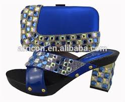 buy boots nigeria sl01 blue arrival 2015 shoes matching bag nigeria