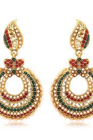 craftsvilla earrings polki earrings buy polki earrings online at craftsvilla