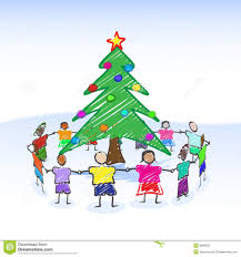 christmas drawing for children christmas tree how to draw