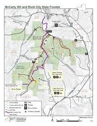 Pennsylvania State Parks Map by Rock City And Mccarty Hill State Forest Map Nys Dept Of