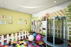 spacious room decor colorful playroom design ideas hampedia