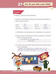 libro de matematicas 6 grado sep 2016 2017 por 10 por 100 y por 1000 desafío 27 desafíos matemáticos sexto