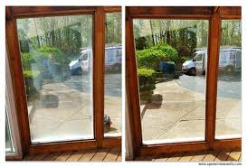 Replacement Patio Door Glass Before And After Foggy Patio Door Glass Replament Apex Window