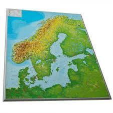 Scandinavia Map Dorrigo 3d Map Of Scandinavia Including Denmark Norway Sweden