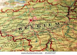 map of begium belgium map stock images royalty free images vectors
