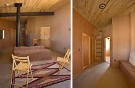 a sustainable off grid house set in the navajo reservation