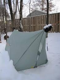 speer winter hammock tarp backpacking light