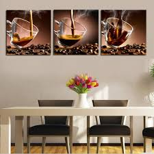 Framed Art For Dining Room by Popular Coffee Cup Canvas Art Framed Buy Cheap Coffee Cup Canvas