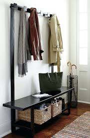 mudroom bench storage plans entryway bench storage rack metal