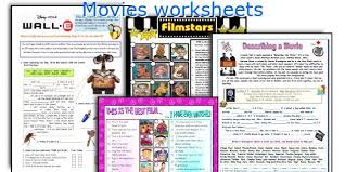 english teaching worksheets movies