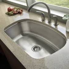 Inch Stainless Steel Undermount Curved Single Bowl Kitchen Sink - Stainless steel undermount kitchen sinks