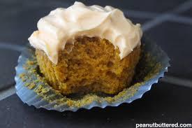 halloween pumpkin cupcakes peanut buttered