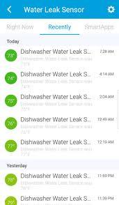 Dishwasher Leaks Water Smartthings Water Leak Sensor Hometech How To