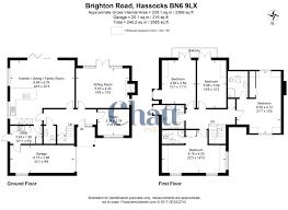 brighton floor plans brighton road hassocks 4 bed detached house 825 000