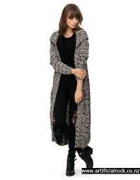 ladakh clothing clothing ladakh popcorn maxi cardi taupe black