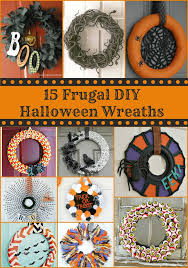 15 frugal diy halloween wreaths best of hotcouponworld